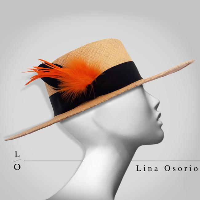 sombrero-pluma-naranja-lina-osorio-2